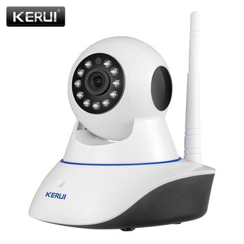 KERUI 720P HD Wifi Wireless Home Security Camera IP de Securitate de Rețea CCTV Camera de Supraveghere IR Viziune de Noapte Baby Monitor